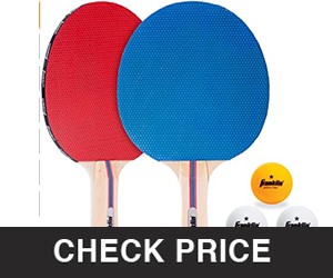 Franklin Sports Table Tennis Paddle Set with Balls