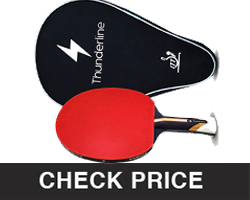 Thunderline Premium Ping Pong Paddle