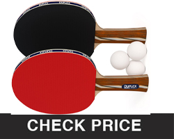 Duplex 6-star Ping Pong Paddle
