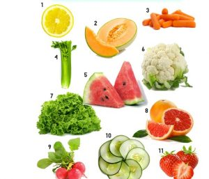 Nutrition for table tennis players